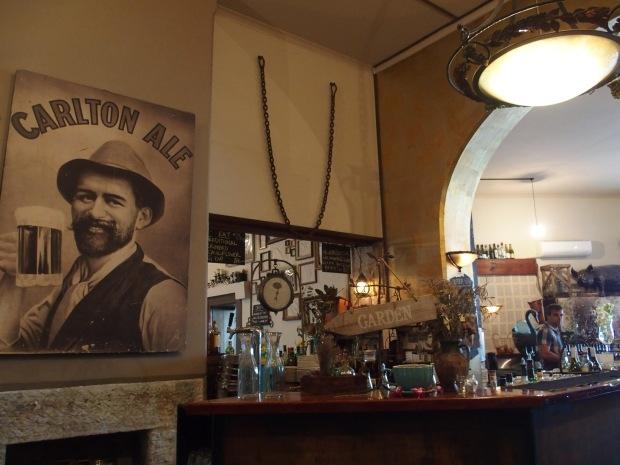 Pub dans le quartier de Pyrmont. Trop chouette l'atmosphère!