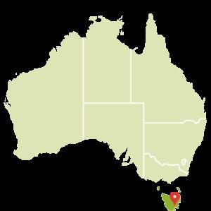 CARTE Tasmanie